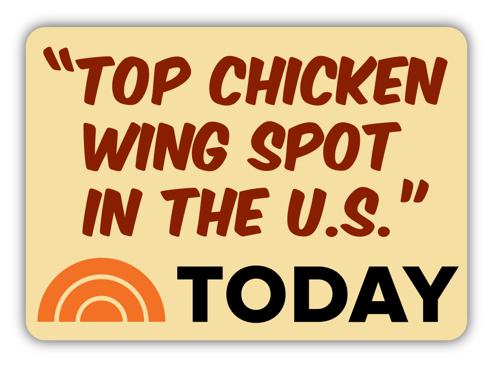 TOP CHICKEN WING SPOT IN THE U.S. - TODAY SHOW
